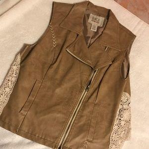 Brown Buckle Vest